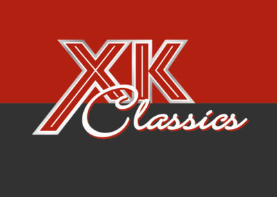 XK Classics logo, website, branding and photography