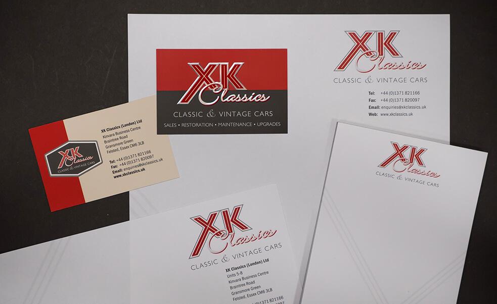 XK Classics Stationery
