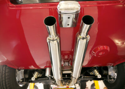 classic-car-upgraded-replacement-exhaust-system