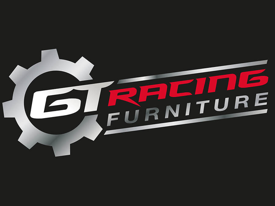 GT Racing Furniture logo and stationery
