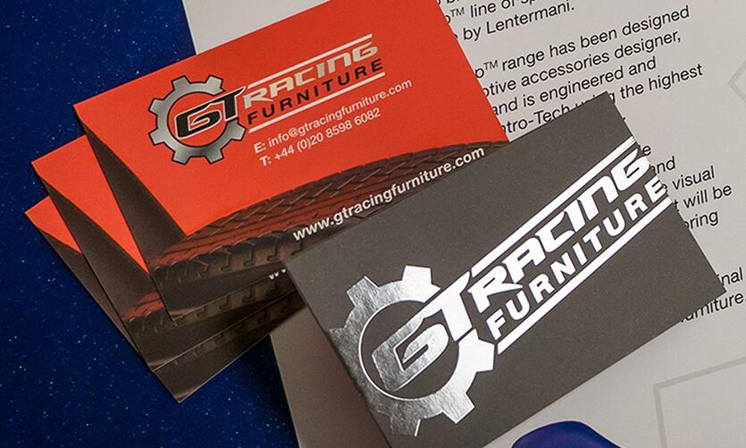 GT Racing Furniture cards